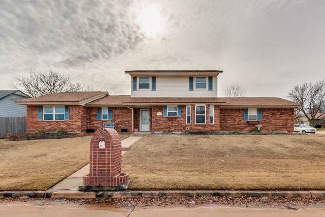 1012 E Main Street, Moore, OK 73160 (MLS #892707) :: Erhardt Group at Keller Williams Mulinix OKC