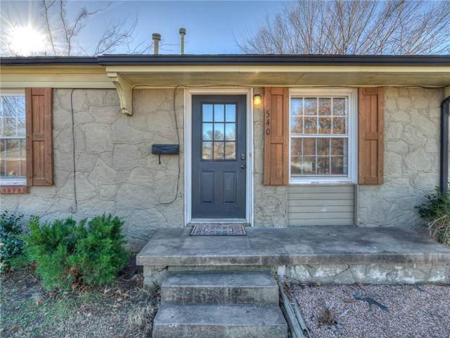 540 E Atkinson Drive, Midwest City, OK 73110 (MLS #892747) :: Homestead & Co