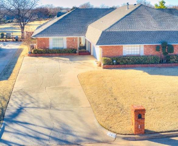 12417 Green Valley Drive, Oklahoma City, OK 73120 (MLS #892779) :: Erhardt Group at Keller Williams Mulinix OKC