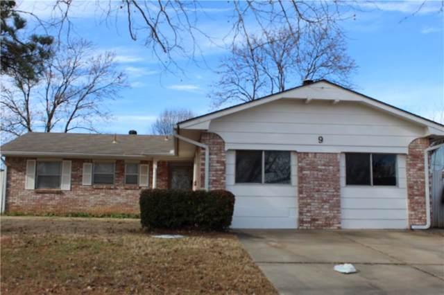 9 Apache, Shawnee, OK 74801 (MLS #892953) :: Erhardt Group at Keller Williams Mulinix OKC