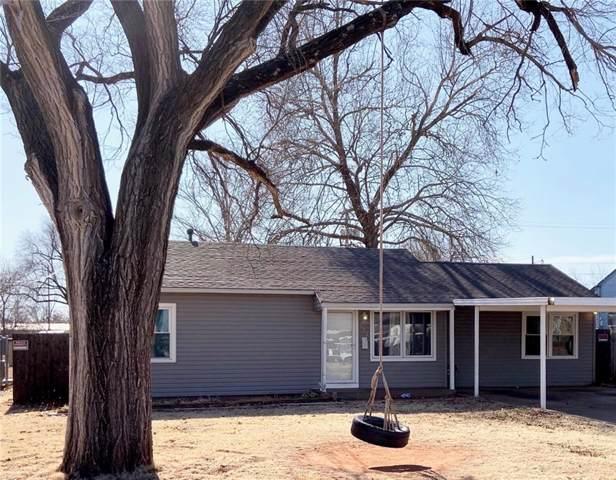 502 Patton Circle, Elk City, OK 73644 (MLS #893121) :: Homestead & Co