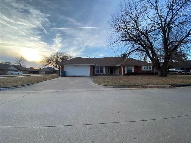 209 Three Oaks Drive, Midwest City, OK 73130 (MLS #893206) :: Homestead & Co