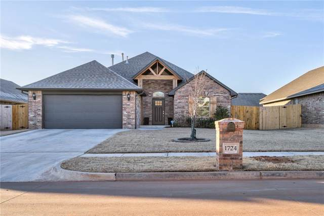 1724 W Blake Way, Mustang, OK 73064 (MLS #893218) :: Keri Gray Homes
