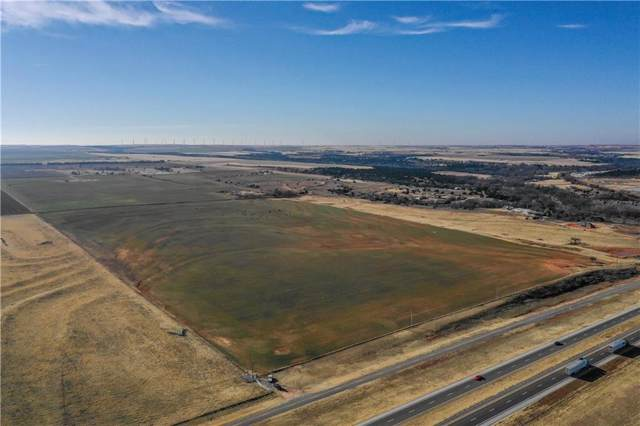 1022 E Cr 1022 Rr1 Road, Weatherford, OK 73096 (MLS #893345) :: Homestead & Co