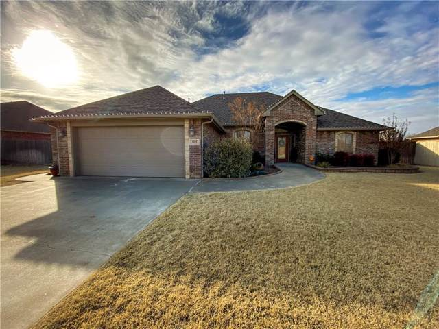 3105 Back Nine Drive, Weatherford, OK 73096 (MLS #894909) :: Homestead & Co