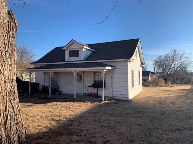 414 E 6th Street, Hydro, OK 73048 (MLS #895086) :: Homestead & Co