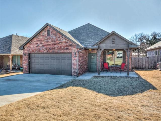 20566 Autumn Trail, Harrah, OK 73045 (MLS #895175) :: Homestead & Co