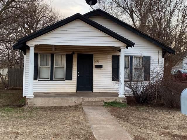 508 W 8th Street, Elk City, OK 73644 (MLS #895622) :: Homestead & Co