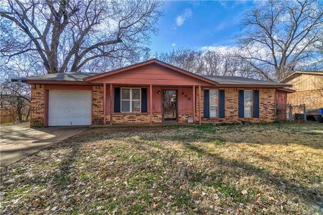 800 N 5th Street, Noble, OK 73068 (MLS #895686) :: Erhardt Group at Keller Williams Mulinix OKC