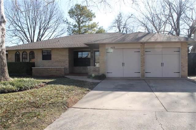 1416 Charles Street, Norman, OK 73069 (MLS #895715) :: Erhardt Group at Keller Williams Mulinix OKC