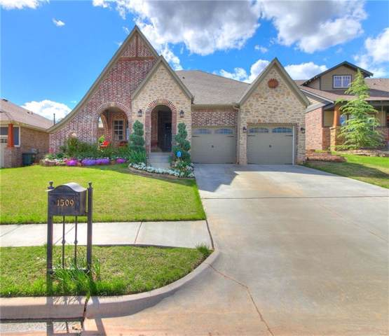 1509 Church Street, Edmond, OK 73034 (MLS #895758) :: Homestead & Co