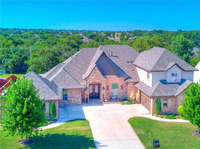 2308 Old Creek Road, Edmond, OK 73034 (MLS #895901) :: Homestead & Co