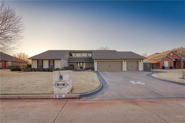 105 Hubert Drive, Elk City, OK 73644 (MLS #895997) :: Homestead & Co