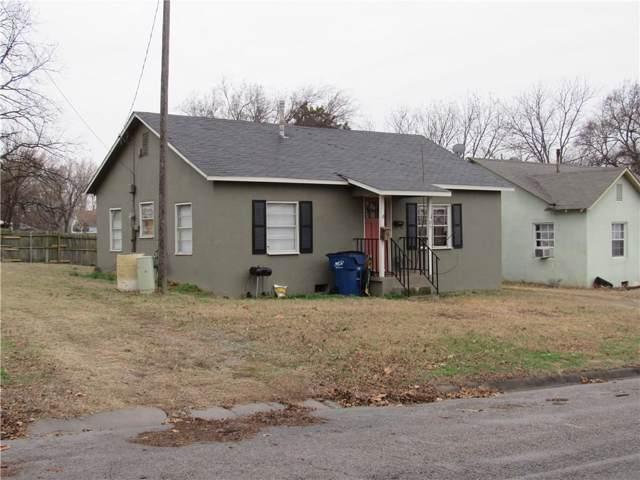 205 E Chickasaw, Wynnewood, OK 73098 (MLS #896134) :: Homestead & Co
