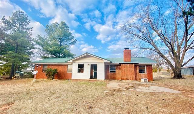 22565 Gaddy Road, Tecumseh, OK 74873 (MLS #896329) :: Homestead & Co