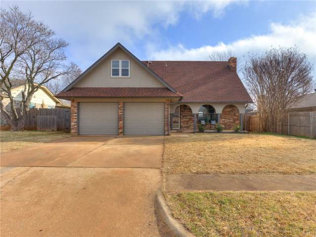 608 S Silver Leaf Drive, Moore, OK 73160 (MLS #896461) :: Homestead & Co