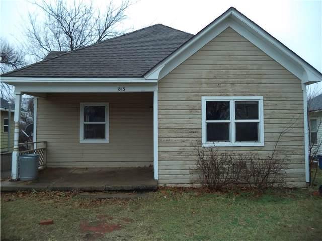 815 N Wentz Street, Guthrie, OK 73044 (MLS #896522) :: Homestead & Co