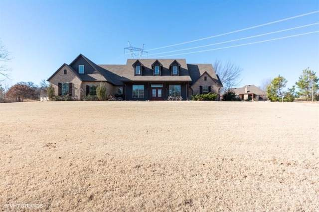 431 Hickory Hill Drive, Choctaw, OK 73020 (MLS #896528) :: Homestead & Co