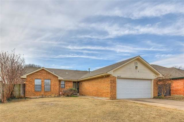 2417 W Park Place, Moore, OK 73160 (MLS #896532) :: Homestead & Co