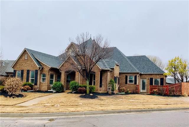 16925 Triana Drive, Oklahoma City, OK 73170 (MLS #896902) :: Erhardt Group at Keller Williams Mulinix OKC