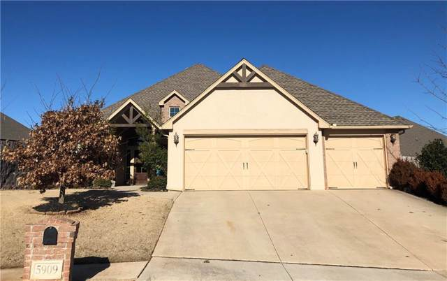 5909 Regis Court, Edmond, OK 73034 (MLS #896952) :: Homestead & Co