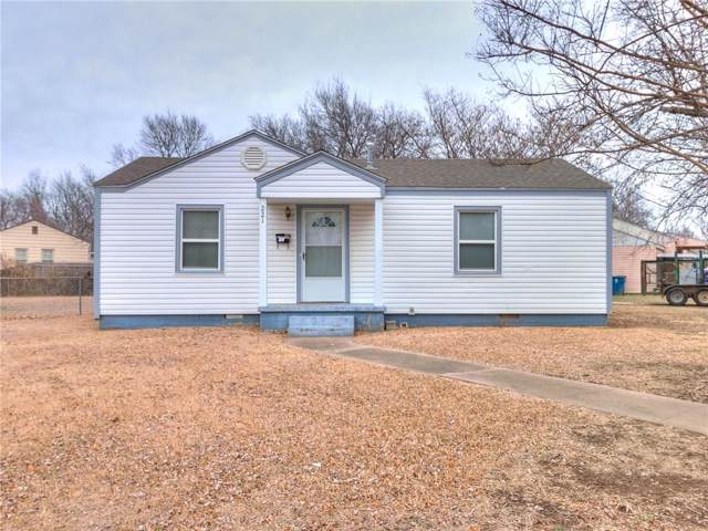 221 W Jacobs Drive, Midwest City, OK 73110 (MLS #897178) :: Homestead & Co
