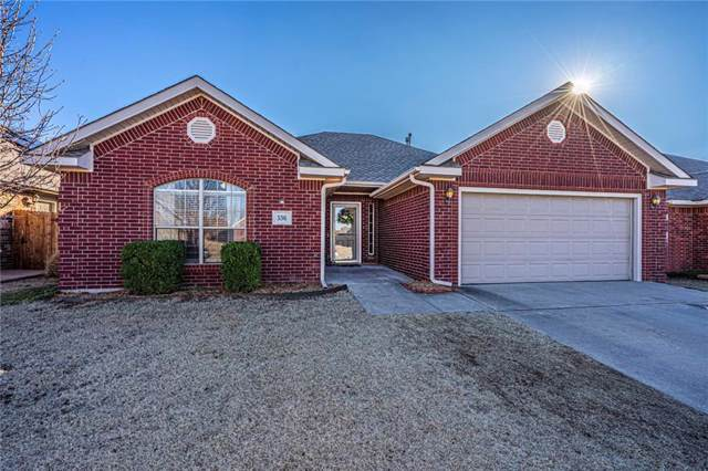 536 E Greenwood Lane, Mustang, OK 73064 (MLS #897312) :: Homestead & Co