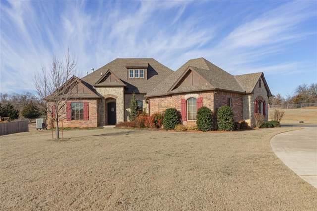 8461 Shadow Lake Drive, Blanchard, OK 73010 (MLS #897673) :: Homestead & Co