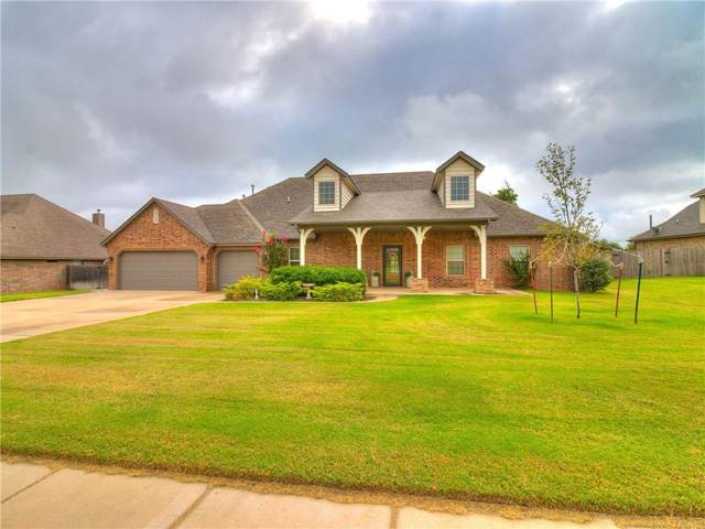 9508 Blake Run Road, Yukon, OK 73099 (MLS #897840) :: Homestead & Co