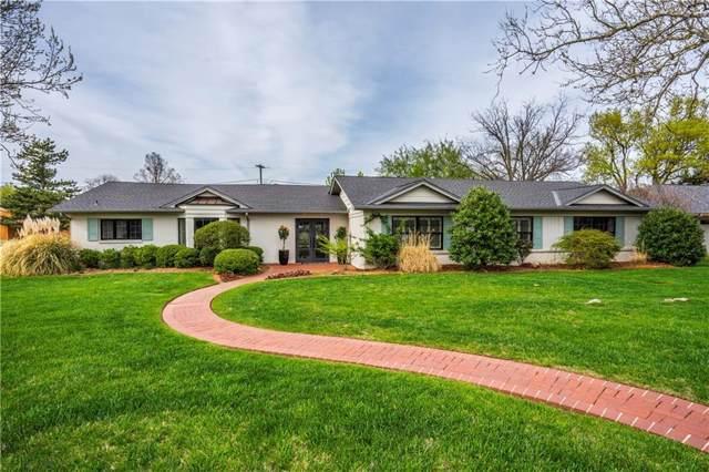 1245 Glenbrook Terrace, Nichols Hills, OK 73116 (MLS #898624) :: The Oklahoma Real Estate Group