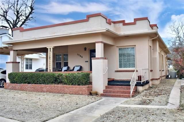 1506 S 17th Street, Chickasha, OK 73018 (MLS #898871) :: Homestead & Co