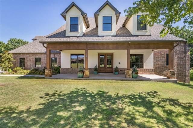 980 Lake Vista Drive, Edmond, OK 73034 (MLS #899080) :: Homestead & Co