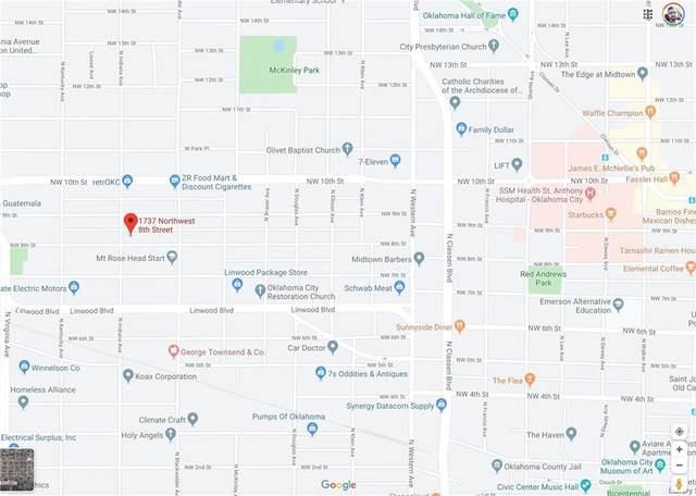 1737 NW 8th Street, Oklahoma City, OK 73106 (MLS #899125) :: Homestead & Co