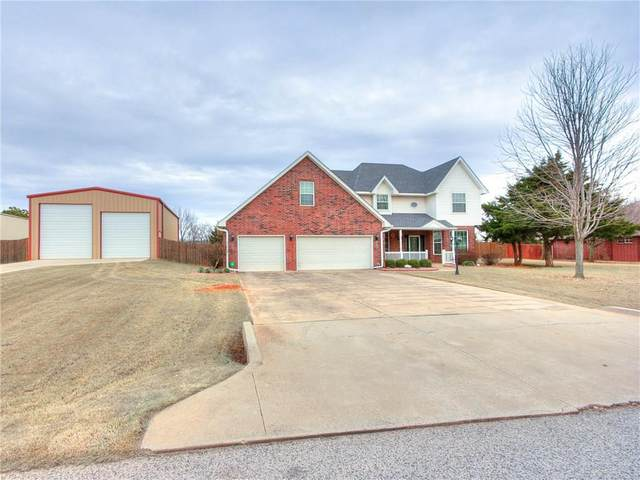 1522 S Southersby Drive, Mustang, OK 73064 (MLS #899174) :: Homestead & Co