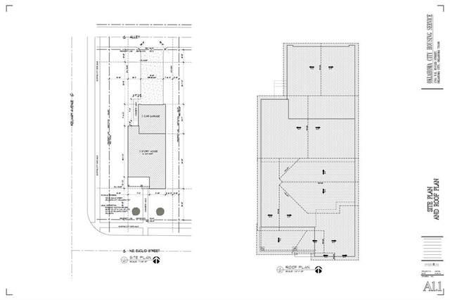 1701 NE Euclid Street, Oklahoma City, OK 73117 (MLS #899648) :: Homestead & Co