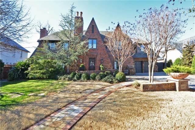 1207 Huntington Avenue, Nichols Hills, OK 73116 (MLS #899812) :: Erhardt Group at Keller Williams Mulinix OKC