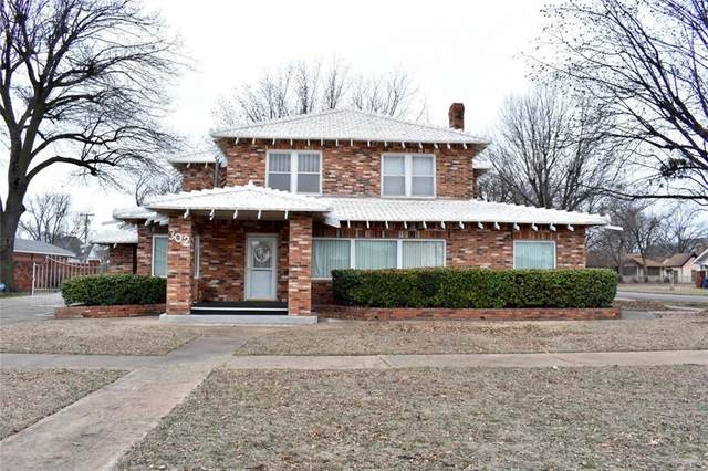 302 S 6th Street, Chickasha, OK 73018 (MLS #899943) :: Homestead & Co