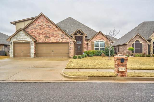 13913 Drakes Way, Yukon, OK 73099 (MLS #900049) :: Homestead & Co