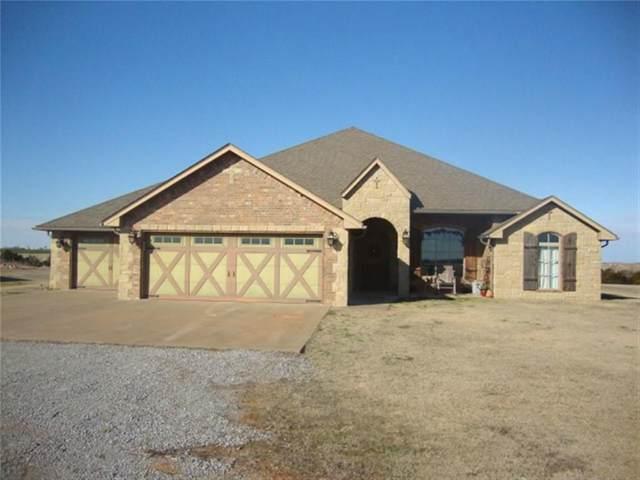 2100 County Street 2490 Street, Hydro, OK 73048 (MLS #900057) :: Keri Gray Homes