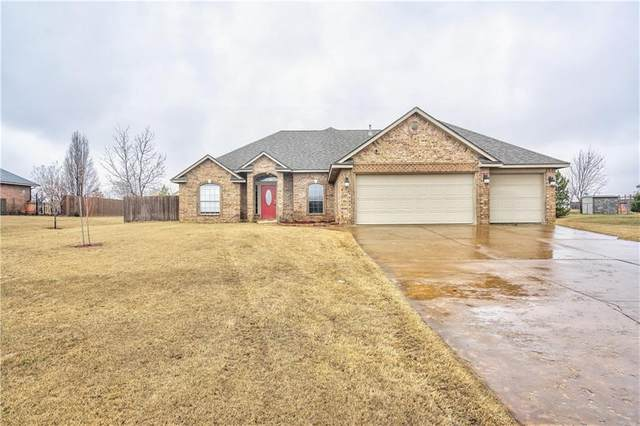 821 Eagle Ridge Road, Tuttle, OK 73089 (MLS #900083) :: Keri Gray Homes