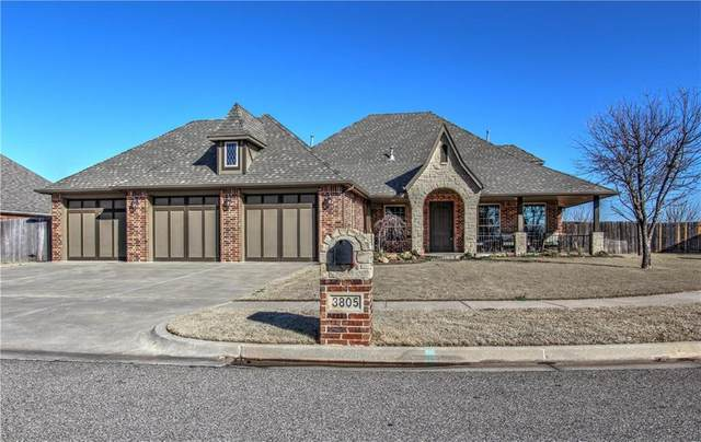 3805 Dalston Circle, Norman, OK 73072 (MLS #900190) :: Homestead & Co