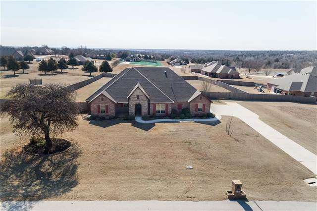 3170 Staghorn Drive, Blanchard, OK 73010 (MLS #900484) :: Homestead & Co
