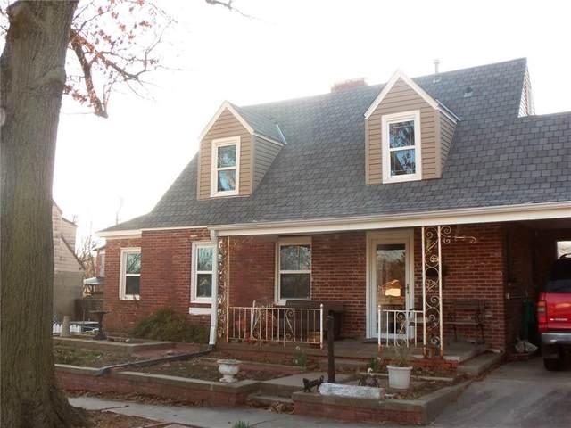 206 N Tucker Street, Shawnee, OK 74801 (MLS #900533) :: Keri Gray Homes