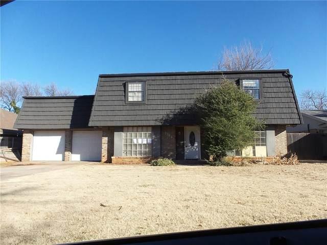 7704 Brookside Drive, Oklahoma City, OK 73132 (MLS #900549) :: Erhardt Group at Keller Williams Mulinix OKC