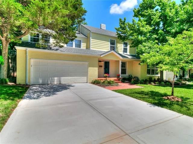1123 Hemstead Place, Nichols Hills, OK 73116 (MLS #900553) :: The Oklahoma Real Estate Group