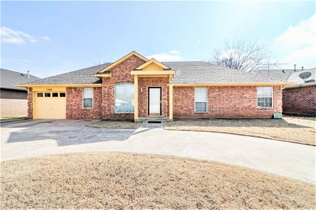 109 Meadows Lane, Shawnee, OK 74804 (MLS #900717) :: Homestead & Co