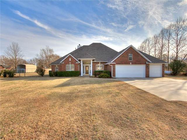 7350 Pleasant Valley Drive, Norman, OK 73072 (MLS #900811) :: Homestead & Co