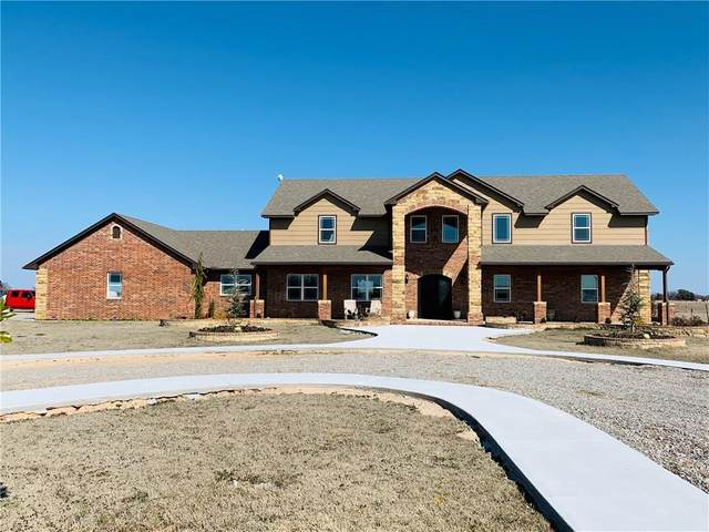 7801 Lewis Road, Lexington, OK 73051 (MLS #900818) :: Homestead & Co