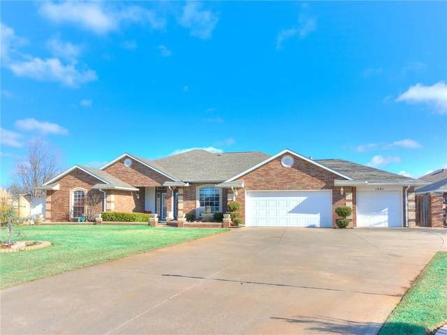 1401 Creek Circle, Edmond, OK 73013 (MLS #900878) :: Homestead & Co