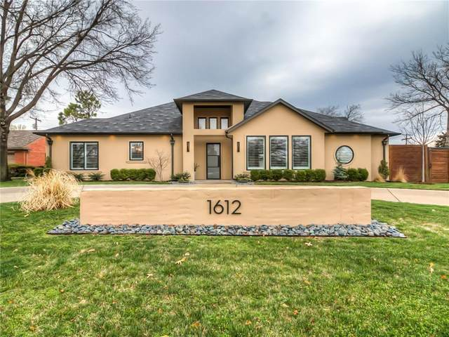 1612 Drakestone Avenue, Nichols Hills, OK 73120 (MLS #900997) :: The Oklahoma Real Estate Group